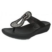 Clarks Women's Wave Glitz Black Slippers - 5UK/India (38 EU)