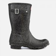 Hunter Women's Original Starcloud Short Wellies - Black Multi - UK 4 - Black