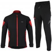 Ropa De Ciclismo Hombre Invierno Equipacion Ciclismo Chaqueta Arsuxeo + Pantalones Set De Ropa ARJ15Q