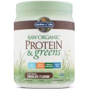 Garden of Life Raw Organic Protein and Greens - Chocolate - 458g