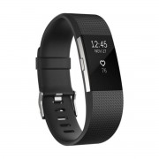 Fitbit Charge 2 Negro Acero inoxidable S FB407GMBKS