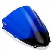 Suzuki GSXR600 / GSXR750 (2008-10) Double Bubble Race Screen: Blue 400074G