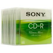 Sony CD-R 80 / 700MB Jewel Case 48x Speed