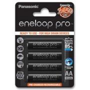Panasonic Eneloop Pro 4xAA BK-3HCCE 2550mAh
