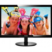 LED мониотр - 24' Slim LED 1920x1080 FullHD 16:9 5ms 250cd/m2 10 000 000:1 DVI, VESA, Piano Black - 246V5LSB