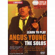 Roadrock International Lick Library: Learn To Play Angus Young - The Solos DVD