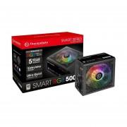 Fuente De Poder Thermaltake Smart RGB 500W 80+ PS-SPR-0500NHFAW-1