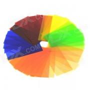 Set de filtros de color GODOX CR-07 speedlite (5 x 7 colores)