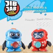 Kids Robot Toy Creative Robotic Toy with Face Changing Voice Changing Recording