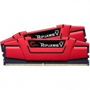 Memorie GSKill RipjawsV Red 16GB DDR4 3200MHz CL14 Dual Channel Kit