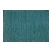 Miliboo Tapis bleu canard jute 170x240cm GUNNY