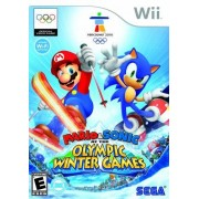 Sega Of America, Inc. Mario and Sonic at the Olympic Winter Games Nintendo Wii