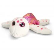 Broscuta testoasa de plus Sparkle Eye, Keel Toys, 25 cm, Roz, 3 ani+