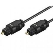Techly Cavo audio ottico digitale Toslink (SPDIF) 0,5 mt. ø 2.2 mm