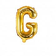SkyLantern® Original Ballon Lettre G Or 35 cm