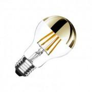 efectoled.com Bombilla LED E27 Regulable Filamento Gold Reflect Classic A60 6W