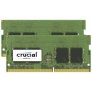 Crucial 8GB Kit DDR4 2666 MT/s 4GBx2 SODIMM 260pin SR x8 unbuff