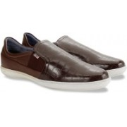 Arrow Casual Slip On Loafers For Men(Brown)