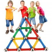 ER 28 Ordenadores/Set Manual Tridimensional Bloques Magnéticos Kids Juguetes Educativos - Multicolor
