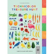 Technicolor Treasure Hunt: Learn to Count with Nature, Hardcover/Hvass & Hannibal