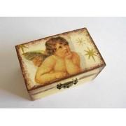 cutie lemn decorata 21593