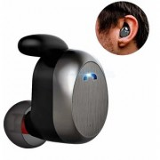 Invisible Mini Bluetooth Earbuds With Anti Fall Grip Bluetooth Earphone -EZ407V