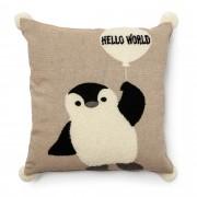 Kave Home Capa de almofada Soneto 45 x 45 cm