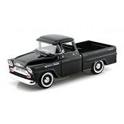 1958 Chevrolet Apache Fleetside Pickup Light Blue 1/24 by Motormax 79311