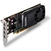 Grafička kartica Quadro P1000 DVI, 4GB GDDR5, PCIe 3.0 x16, 4x mDP - DVI-D, Low Profile, PNY