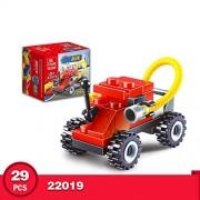 Generic 10 Kinds Transportation Block Car Building Blocks Compatible legoeINGlys Duplo Soliders Police Bricks Gift Racing