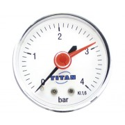 "Manometru apa 53 mm, D1/4"", 0-10 bar, montaj radial"