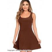 Stilren klänning i klassisk modell