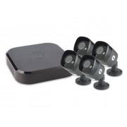 Kit 4 camere video 1280x720p CCTV Smart Home, Yale 4ABFX
