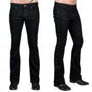 Muške hlače (traperice) WORNSTAR - Gauntlet - Black - WSGP-GLT