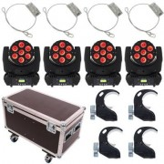 Stairville MH-110 Wash 7x10 LED Mo Bundle