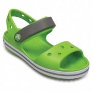 Crocs - Kids Crocband Sandal - Sandales de marche taille J2, vert