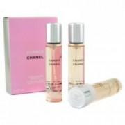 Chanel Chance Twist & Spray Eau De Toilette Refill Dámská dárková sada