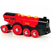 Locomotiva mare rosie
