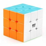 . QiYi Warrior Speed ??Cube 3x3 Smooth Magic Cube Rompecabezas Juguetes-57mm