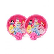Disney Princess Catch Ball Set packed in PolyBag for Children of age 3 to 8 years | Imported Premium Quality | Certified Safe as per European Safety Standards (EN71) | Sports development toys for Kids | Multi Color | Includes cute and attractive character