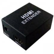 HDMI към HDMI Extender Repeater 40m 1080P 3D, усилва HDMI сигналa до 40 метра, HDMI40M