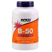 Now Foods B-50 Vitamín B Complex 250 tablet - 250 tablet