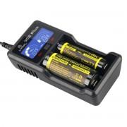 Универсално зарядно устройство и power bank с LCD за 3.6V и 3.7V Li-Ion и 1.2V Ni-MH, Ni-Cd акумулаторни батерии XTAR VC2 Plus Master