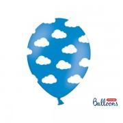 Ballonger Blå Moln