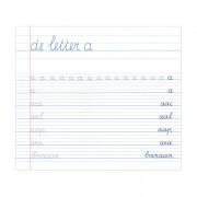 Deltas Mijn oefenschrift - schrijven speciaal voor linkshandigen (6 - 7 jaar)