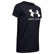 Under Armour - Women's Graphic Sportstyle Classic Crew - T-shirt technique taille XS, noir