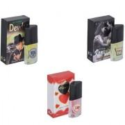 Skyedventures Set of 3 Devdas-Romantic-Younge Heart Red Perfume