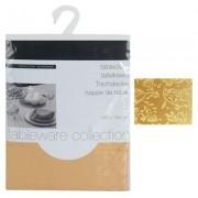 Tafelkleed kerst damast stof 180x130 cm goud