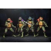 Teenage Mutant Ninja Turtles (1990 movie) Action Figure Set (4) 18 cm