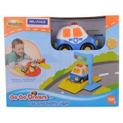 Winfun Police Car and Traffic Light, Multi Color